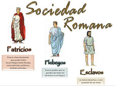 El Imperio Romano Lex Roma Antigua Los Plebeyos Romanos Los Esclavos En Roma Estructura De Clases En El Imper Historia Romana Roma Antigua Roma Para Ninos