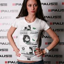 Тениска PAUSE Mickey Mouse White
