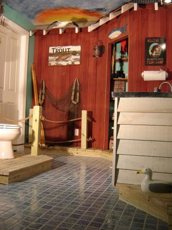 Pinterest the world s catalog of ideas for Fishing man cave
