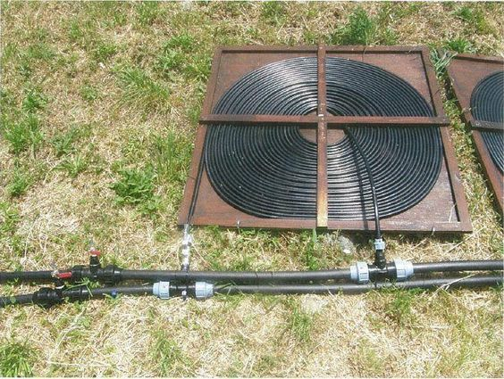 Image Of Diy Solar Pool Heater Picture Gods Kountry Creations Pinterest Pool Heater