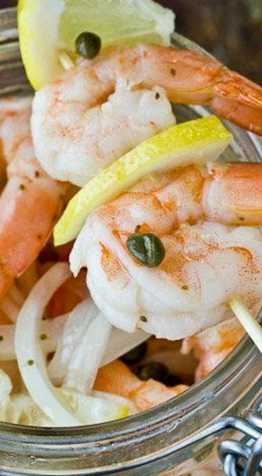 Southern-Style Pickled Shrimp _ There were many notable Southern ...