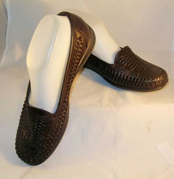 Womens COVINGTON ballet flats moccasin loafers FLORENCE Comfort Shoes 8W