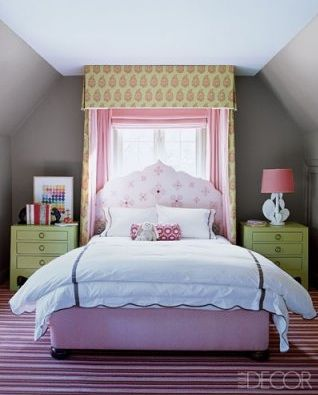 Girls' bedroom. Sophisticated.