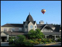 Columbia Winery tasting room in Woodinville, outside Seattle, Washington