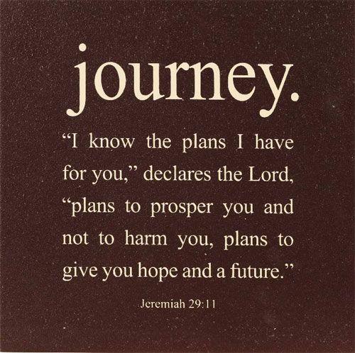 Jeremiah 29:11 One of my favorite verses...