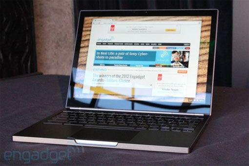Google stellt das Chromebook Pixel vor: Touchscreen mit Retina-Auflösung und LTE - Engadget Deutschland