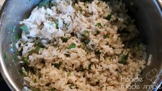 21 Day Fix Cilantro-Lime Brown Rice  Portion ControlContainers: 1 Yellow Yields: 4 Servings Ingredients: 1 cup long grain brown rice 1 3/4 cups water 4 Mexican limes, juice 1/4 cup cilantro, chopped 1 tablespoon olive oil Preparation: In a 2-quart saucepan, heat oil …</p>