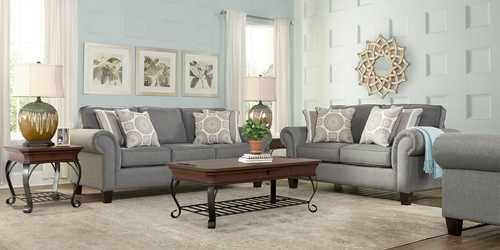 Pennington Gray Sofa Rooms To Go Home Furnishings In