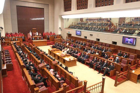 Những kì họp quốc hội thì ngôn ngữ sử dụng chính là tiếng anh