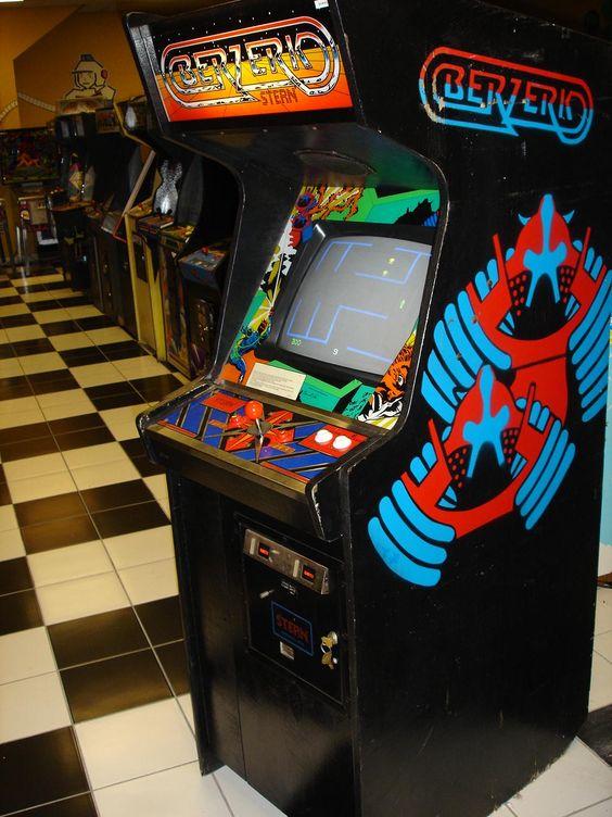 Berzerk arcade cabinet | Arcade Machines | Pinterest | Arcade ...