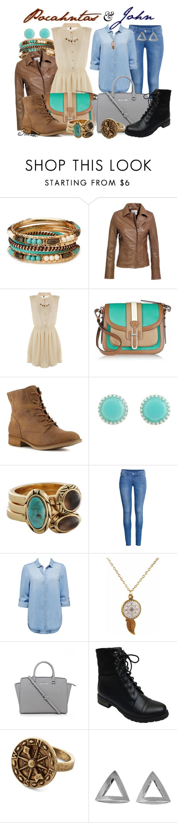 """""""They Don't Know About Us"""" by wickedxcheshire ❤ liked on Polyvore featuring Forever 21, Reiss, TALLY WEiJL, Michael Kors, Crown Vintage, Charlotte Russe, Barse, H&M, Forever New and Bamboo"""