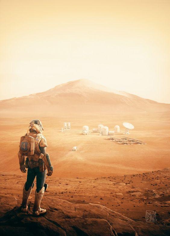 Коронавірус - посилкою на Марс