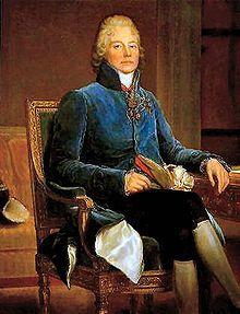 Charles-Maurice de Talleyrand-Périgord 1754-1838 Paris, Diplomat während Ludwig XVI, franz. Revolution, napoleonische Kriege und Wiener Kongress