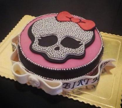 """""""Monster High"""" Torte"""