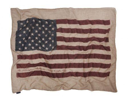 Printed Flag Throw