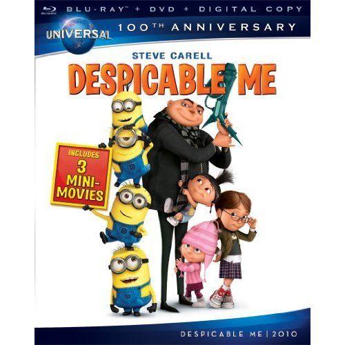 Despicable Me [Blu-ray   DVD   Digital Copy] (Uni ($23.62)
