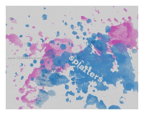 Ink Splatter Paint 71 - Download  Photoshop brush http://www.123freebrushes.com/ink-splatter-paint-71/ , Published in #GrungeSplatter. More Free Grunge & Splatter Brushes, http://www.123freebrushes.com/free-brushes/grunge-splatter/   #123freebrushes