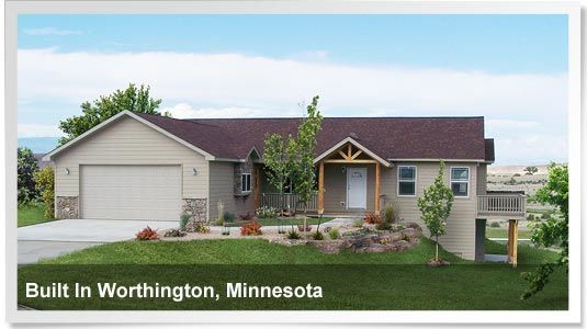 Modular Ranch With Walk-out Basement Built In Worthington