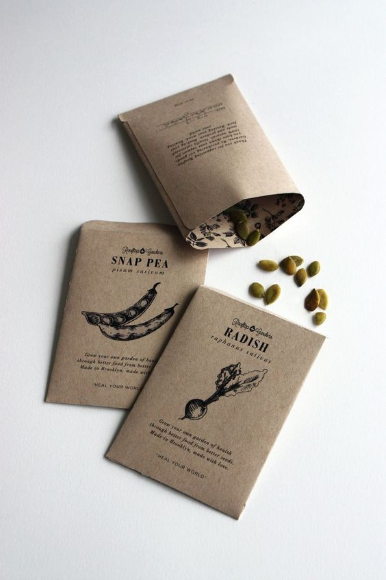 Packaging of the World: Creative Package Design Archive and Gallery: Rooftop Gardens Packaging (Student Project)