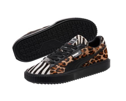 PUMA SUEDE CLASSIC X Paul Stanley KISS White Black Zebra