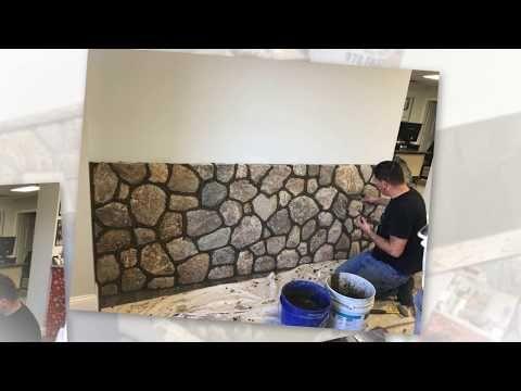 Viana S Masonry Installs Boston Blend Round Thin Veneer Youtube Thin Stone Veneer Interior Walls Stone Veneer