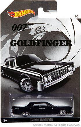 Hot Wheels: New Walmart-exclusive James Bond series coming soon! Beautiful '64 Lincoln Continental