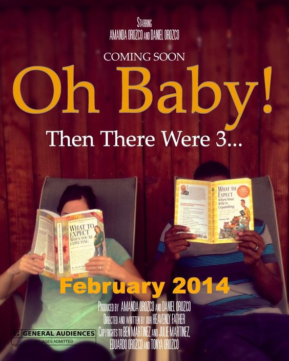 Awesome Pregnancy announcement!