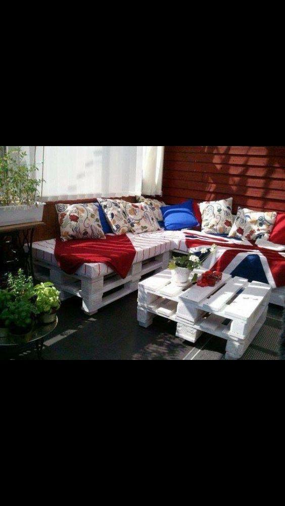 Outside garden seats