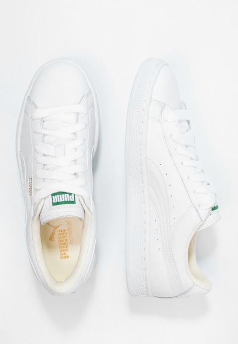 Puma BASKET CLASSIC - Baskets basses - white - ZALANDO.BE ...