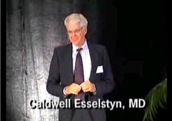 "Caldwell Esselstyn Lecture - ""Make yourself heart attack proof"" #vegan"