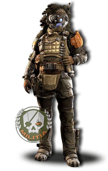 titanfall militia httpwwwtitanfallcomaupilots