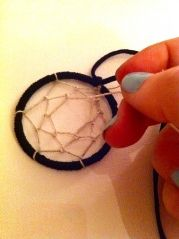 DIY Dreamcatcher Jewelry.