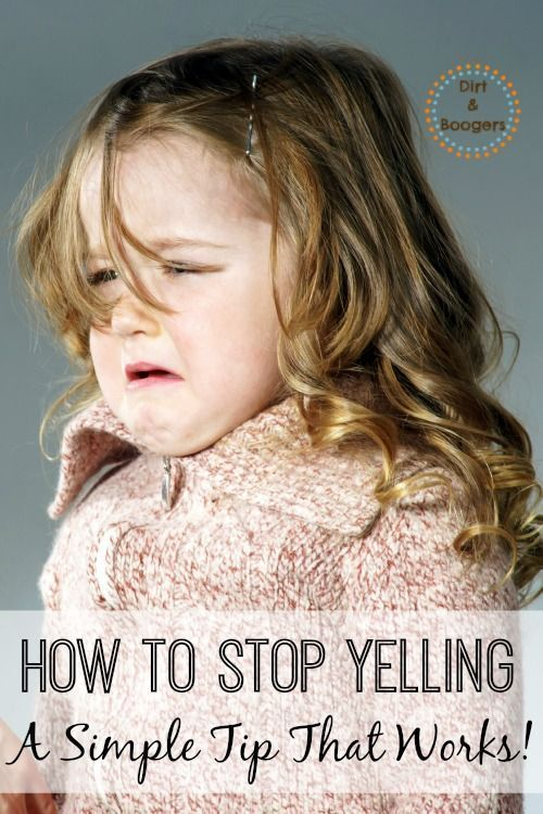 how to stop yelling in my ear