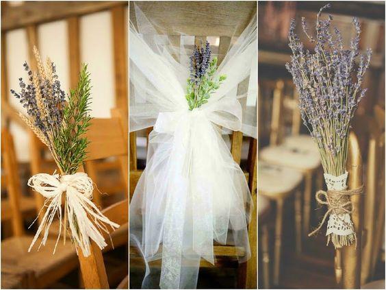 Ideas para incorporar lavanda a la decoración de vuestra boda   Bodas