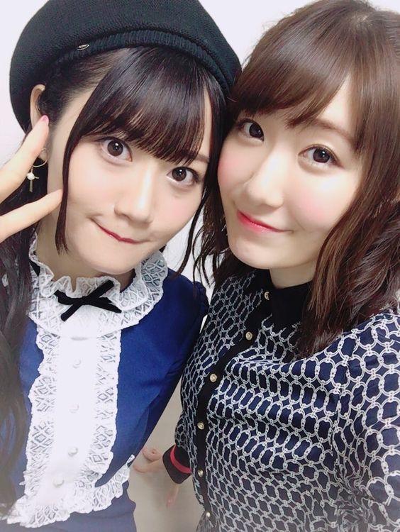 小倉唯さんと日高里菜さん