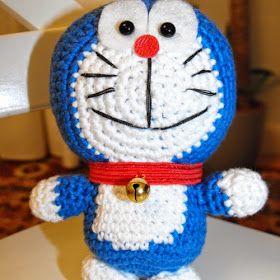 Patrones Amigurumi: Doraemon