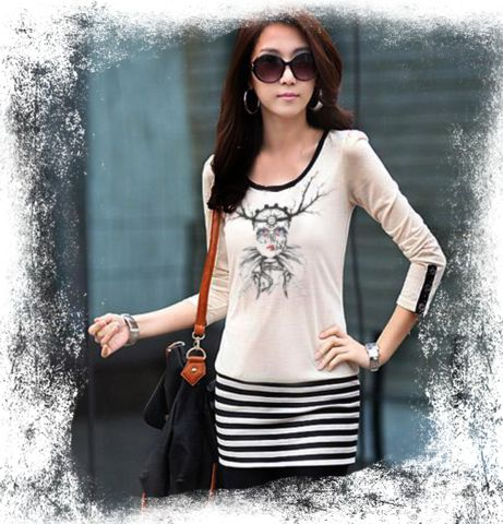 Artistic Expression Top. This customizable ladies top is available from XS-XL at only $35.00.