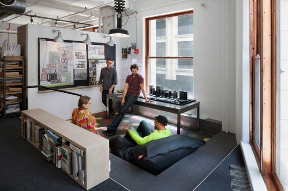 A Space That Encourages Collaboration: ICRAVE's NYC Office: