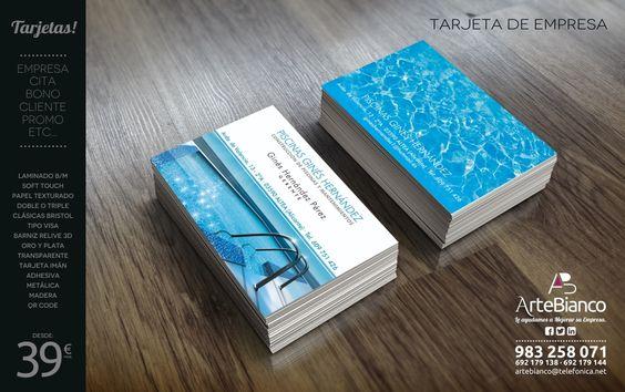 En Artebianco entendemos de tarjetas