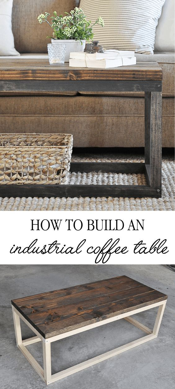 Build Your Own Affordable Diy Industrial Coffee Table With This