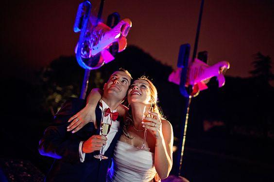 Casamento da Ida e Carlos. #casamento #champanhe #noivos #baloes
