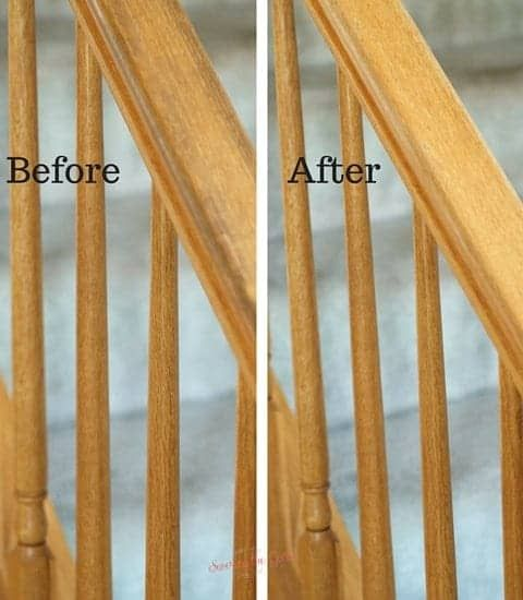 Cleaning Sticky Wooden Bannisters Is Easier Than You Think Just A Bit Of Wiping With The Right Product And You Have Clean Fr With Images Cleaning Wood Bannister Cleaning