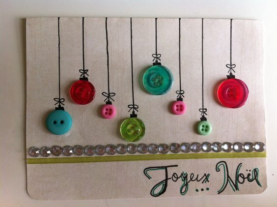 Carte de no l bricolage pinterest - Bricolage de noel pinterest ...