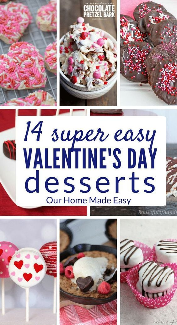 14 Super Easy Valentine's Day Desserts