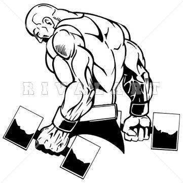 Gym Instructor Clip Art