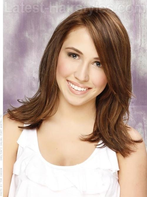 Remarkable Brown Hair Colors Medium Brown Hair And Layered Hairstyles On Short Hairstyles Gunalazisus