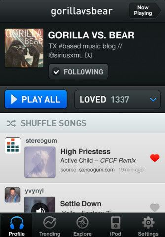 I love ex.fm. It has replaced all other apps as my primary way of exploring music.