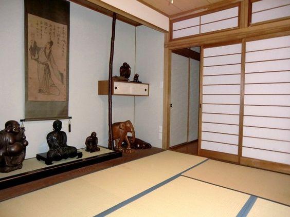 intérieur japonais décoration | chambre traditionnelle japonaise ...