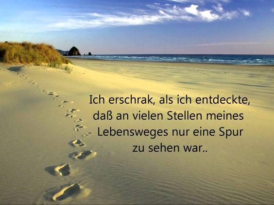 Christliche Lieder, Deutsch: Spuren im Sand