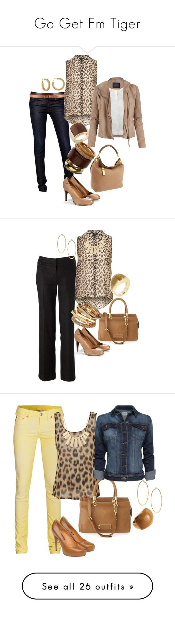 """""""Go Get Em Tiger"""" by chanelsaliah ❤ liked on Polyvore featuring Hudson Jeans, Mexx, ALDO, Dorothy Perkins, Michael Kors, AllSaints, women's clothing, women, female and woman:"""